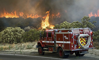 CAL FIRE on the front lines of wildfires
