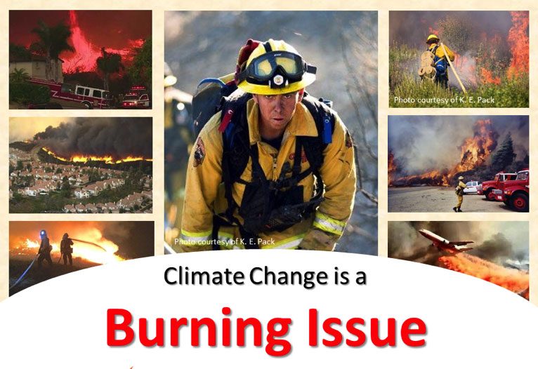 Climate Change is a Burning Issue