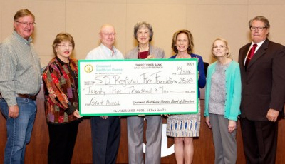 Grossmont Healthcare District donates 25000 to help provide County fire stations with defribrillators