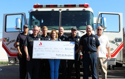 Grant to the Elfin Forest Firefighters