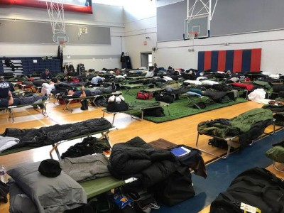 Search and Rescue housing for Irma deployment