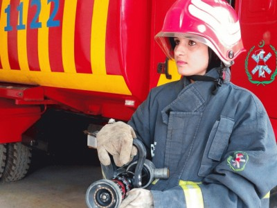 Pakistan Firefighter Parveen