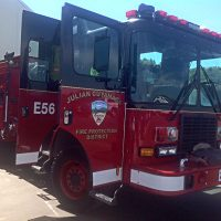 Application to Dissolve Last Volunteer Fire Department in San Diego County