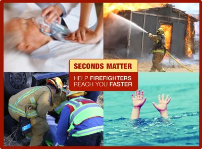 San Diego Firefighters need every second they can get to help save your loved one.