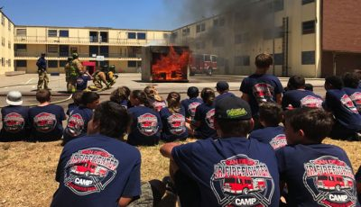 Explorer Program Prepares High School Kids for a Career in Firefighting