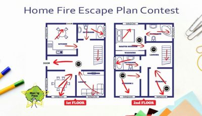 Creat a Fire Escape Plan Map