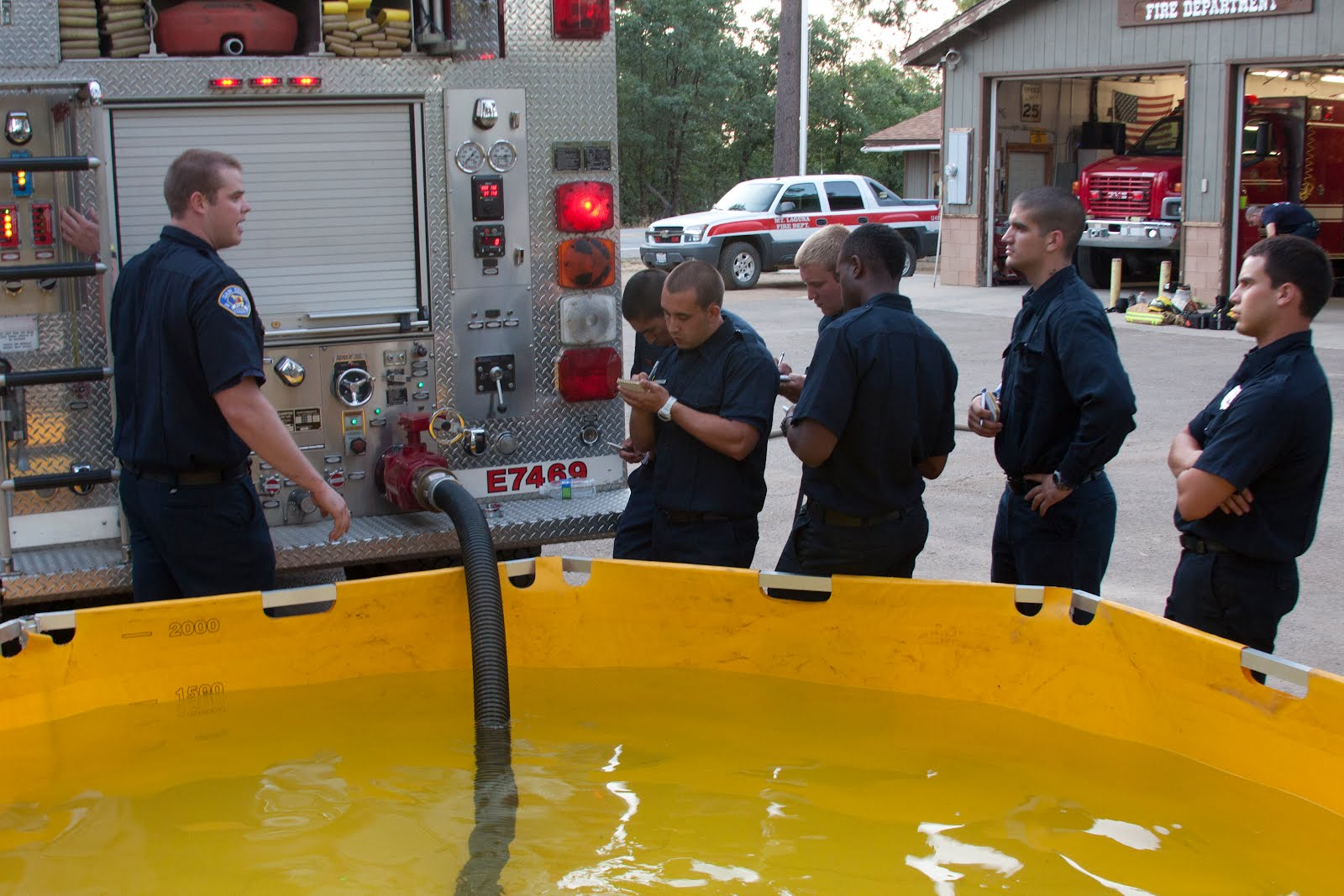 Fillingtanks Become Volunteer Firefighter Filling Tanks