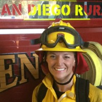 One woman chose to change her life mid-career and follow her dream into firefighting