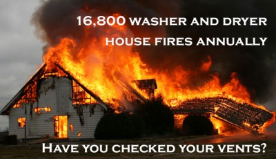 Washers and Dryers Cause 16,800 Structure Fires Annually