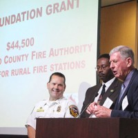 Foundation Donates $44,500 to Fire Stations for New AEDs