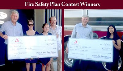 San Diego Teens Each Win $500 in our Home Fire Escape Plan Contest